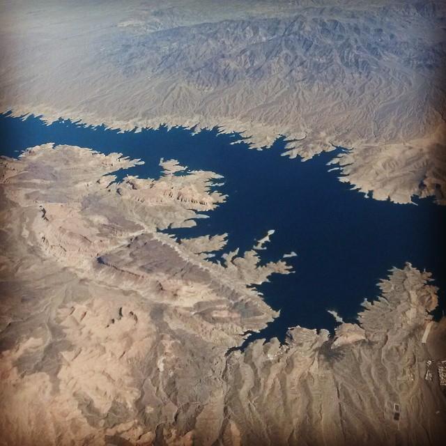 lentokoneesta, Arizona, USA
