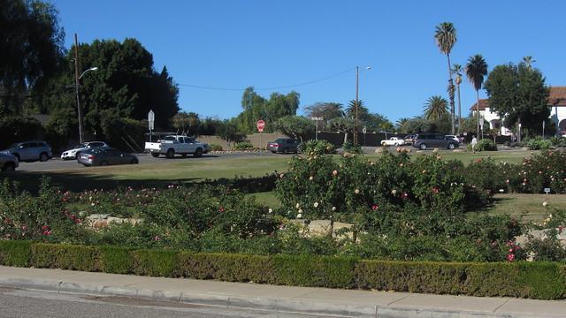 IMG_8622 Santa Barbara Mission Postel Rose Garden