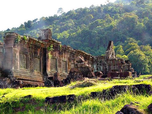 du lịch lào đền wat phu