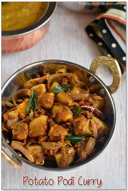 Chettinad Potato Fry(Podi Curry)
