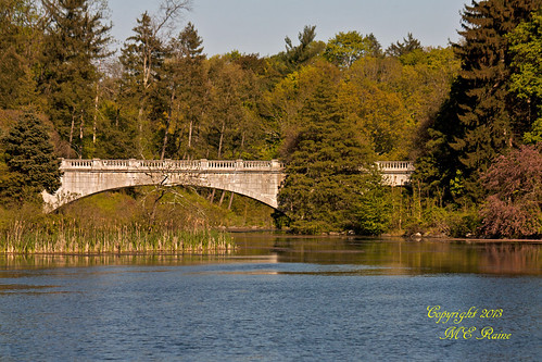 Stone Bridge by Great Falls Lake at Duke Farms, Hillsborough, NJ - Local Attractions
