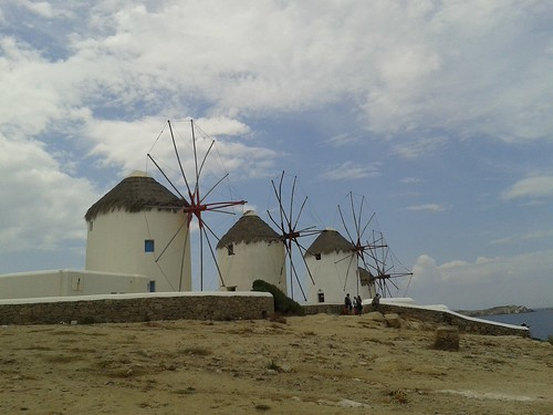 Windmills Mykonos by Just Daves Photos
