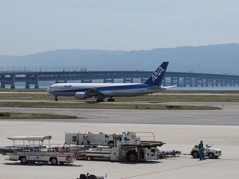 ANA in Kansai International Airport