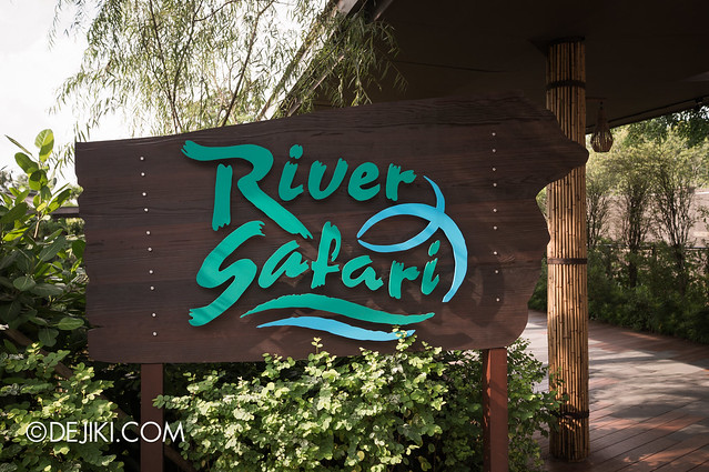 River Safari - entrance