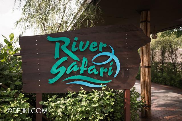 River Safari - entrance