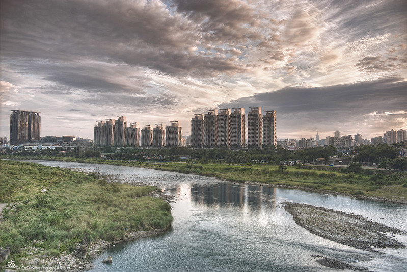 [scenery] riverside of New Taipei City