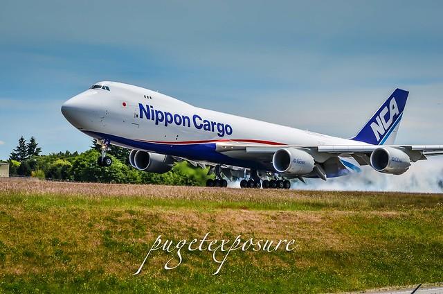 NIPPON CARGO B747-8KZF