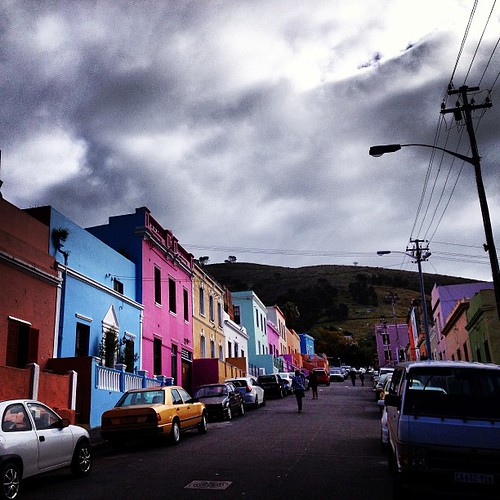 Bo-kaap area of Cape Town