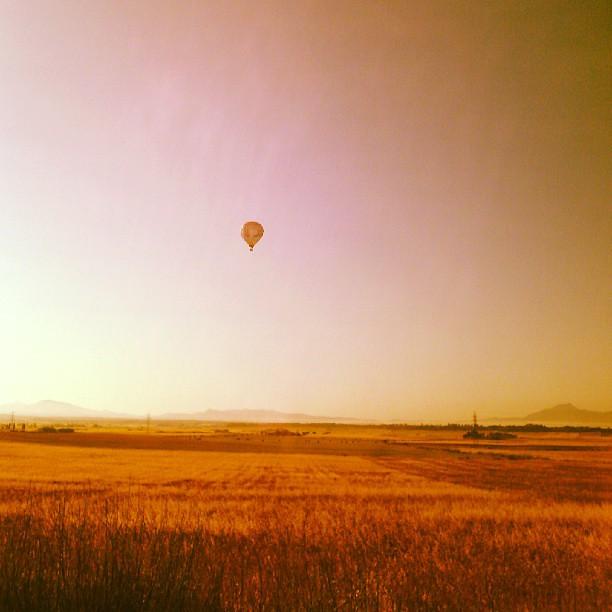 Bon dia! #airbaloon #mallorca  #bondia