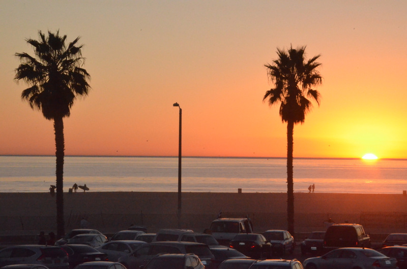 Santa-Monica-November-Sunset