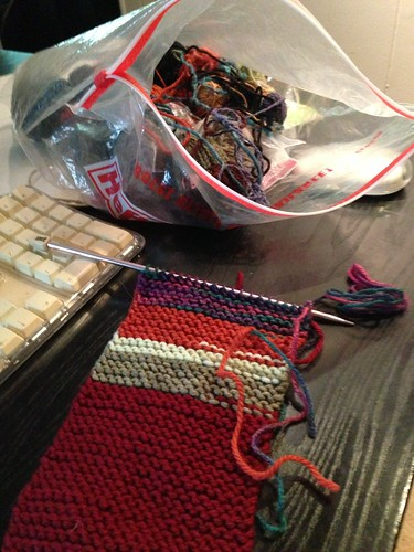 Garter stitch proto