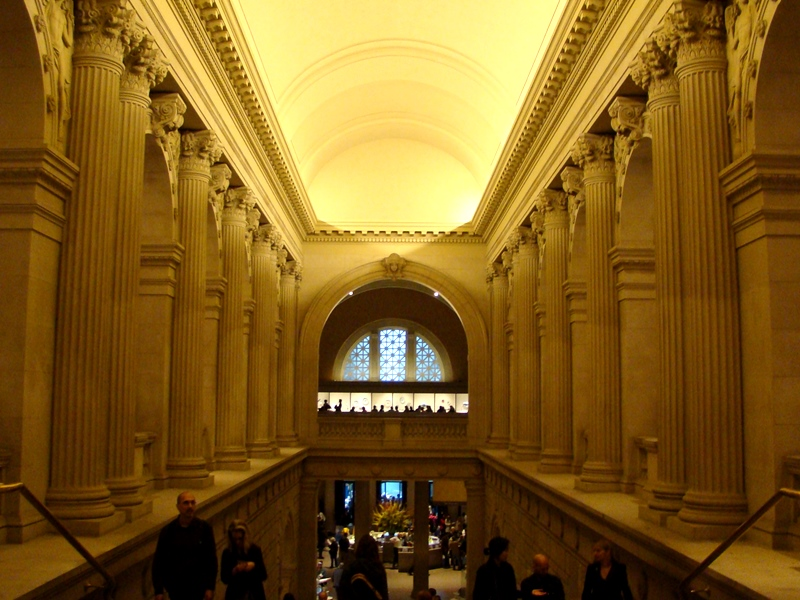 The Met entrance