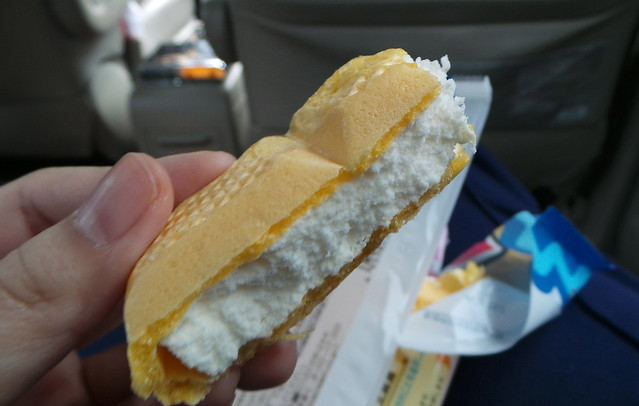 vanilla ice cream sandwich