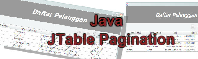 JTable Pagination