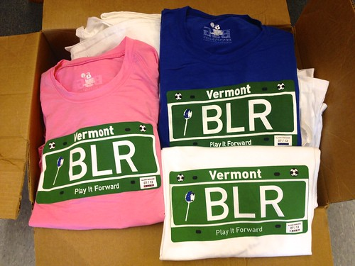 2013 BLR Play It Forward jerseys and tees