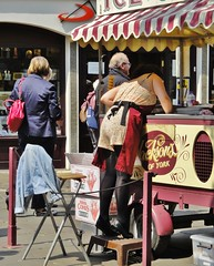 I'll Have the One at the Bottom Please - York City Centre - June 2013 - Candid Ice Cream Seller