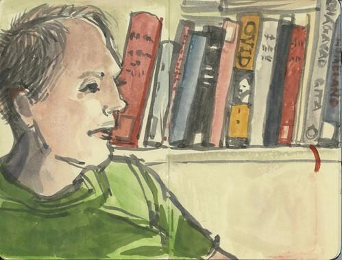 k's bookshelf by Bricoleur's Daughter