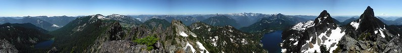Mount Roosevelt Summit Pano