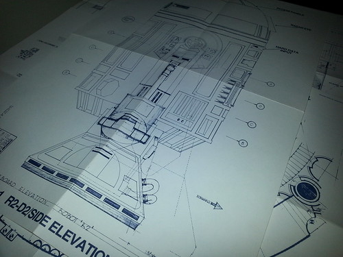 Can't wait to frame our Star Wars blueprints for the office.