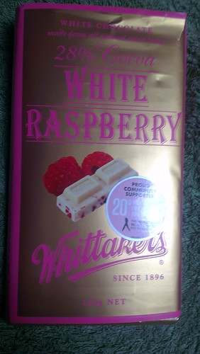 2012-09-28 - Chocolate - Whittakers White Raspberry - 01 - block