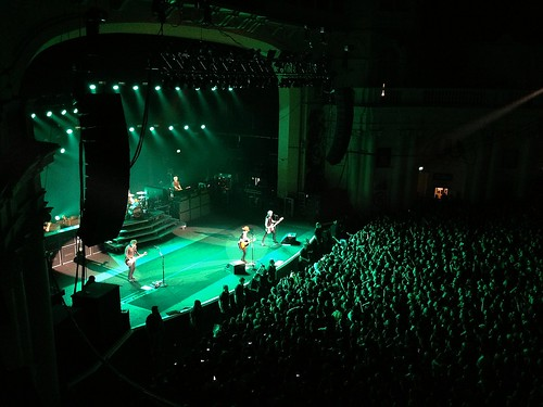 Green Day in concert at O2 Brixton Academy is today's virtualvacay #London