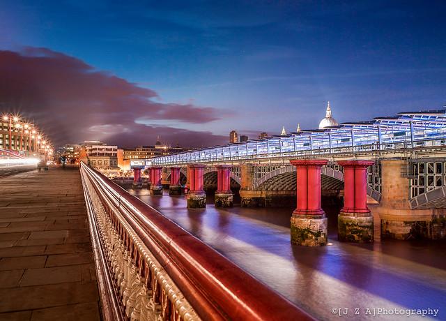 3 Blackfriars Bridges