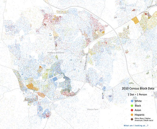 Race and density in the Triangle
