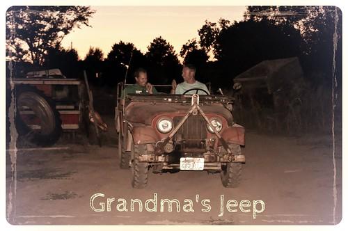 Grandma's Jeep
