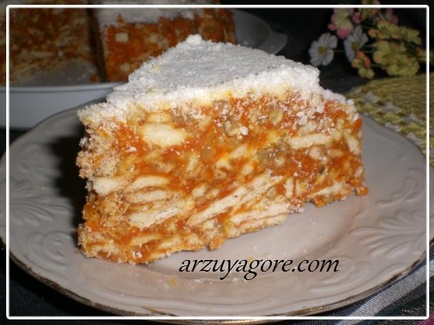 havuçlu mozaik pasta-2