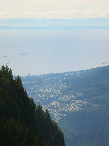 North Vancouver from Grouse Mountain