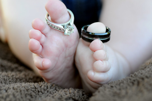 Wedding Rings and Baby Toes. by Random and Odd