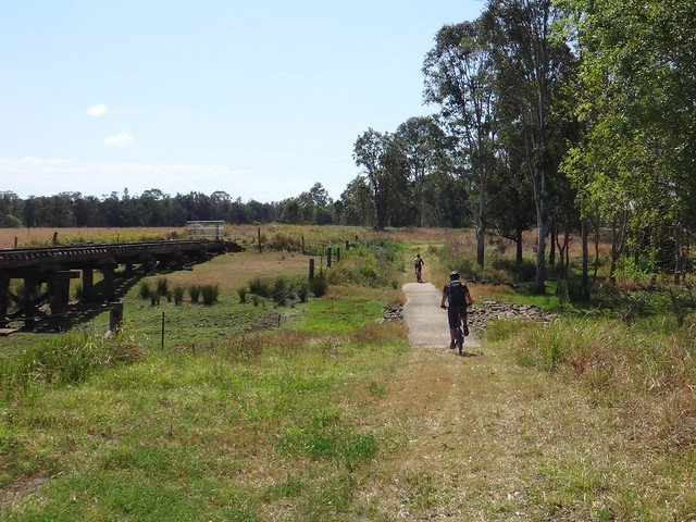 Brisbane Valley Rail Trail, Toogoolawah
