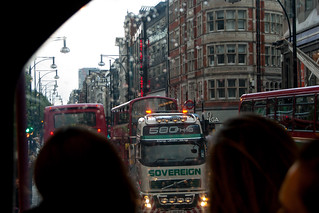 Dépannage d'un bus en panne