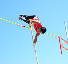 athletics, track and field athletics, sports, recreation, pole vault, outdoor recreation, person,