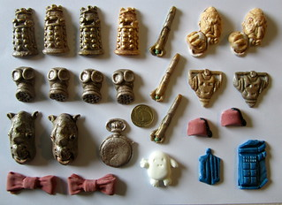 Doctor Who cake decorations