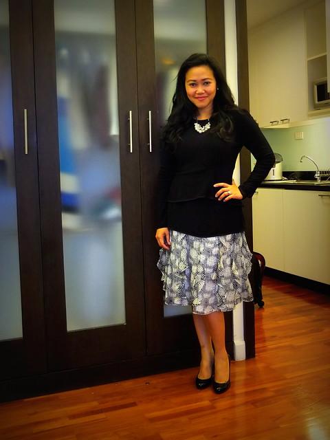 cmv skirt - narciso peplum - loubies2