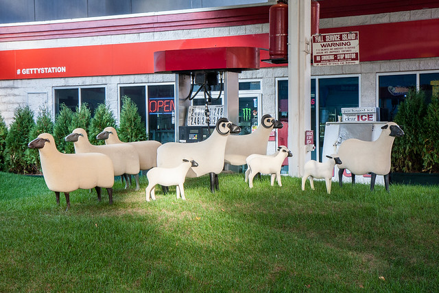 Francois-Xavier Lalanne, Sheep Station, Getty Station