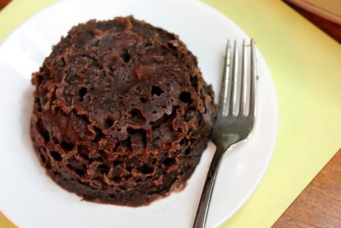chocolate cake mug 2