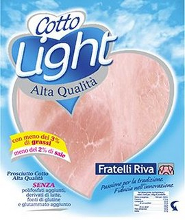 Prosciutto Cotto Light Fratelli Riva