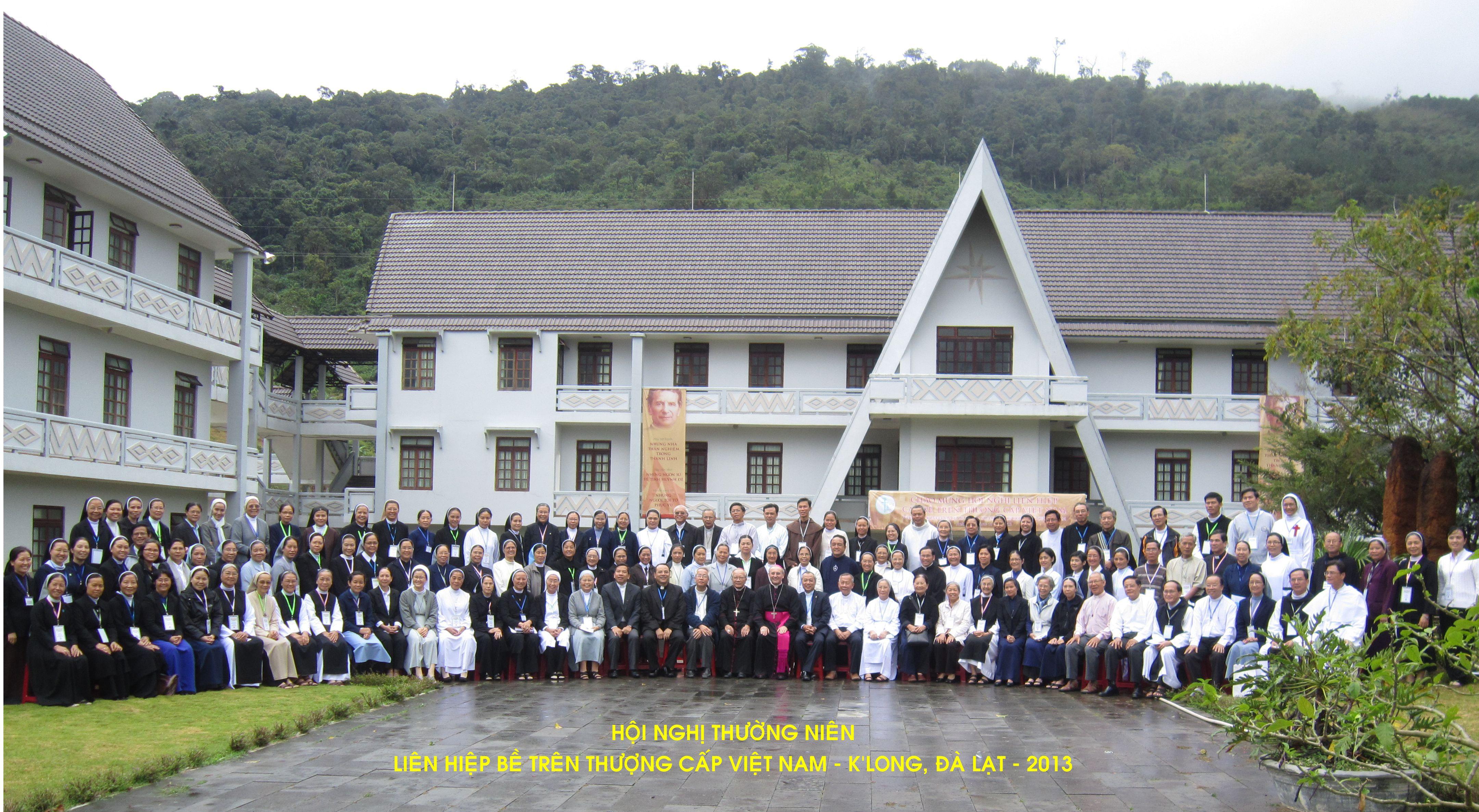 Hội Nghị Liên Hiệp Các Bề Trên Thượng Cấp Việt Nam 2013