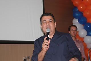 O vereador licenciado e atual secretário da Educação de Americana Luciano Correa