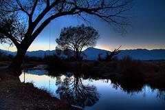 #Flickr12Days Sierra Nevada Mountains at dusk