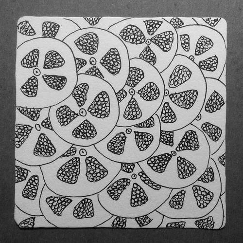 Slices and Seeds (Pen and Ink Exercise) by randubnick