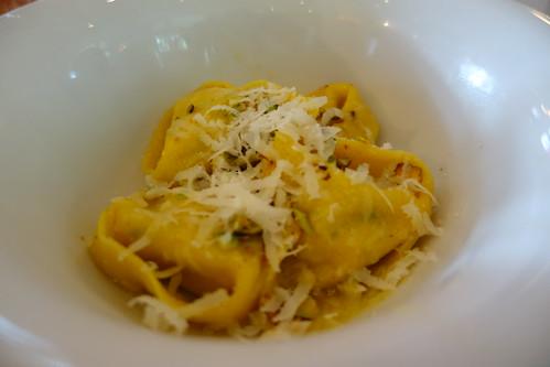 Artichoke Heart, Pistachio, Parmesan & Ricotta Cheese Ravioli Aglio Olio