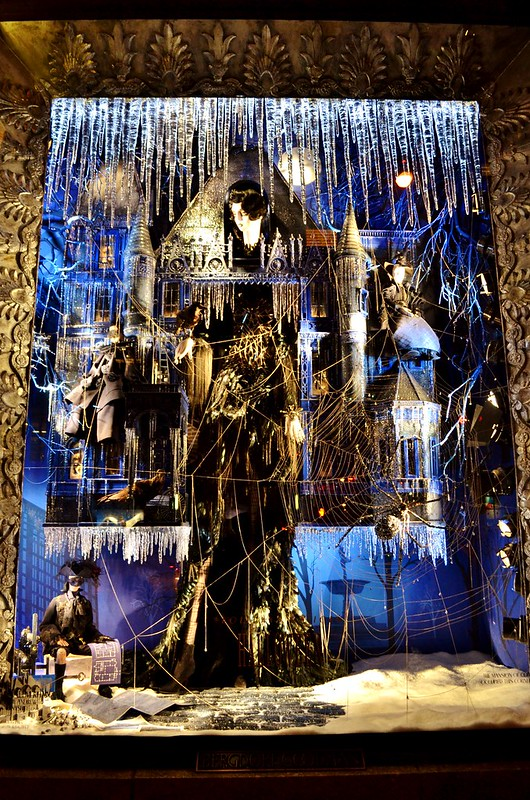 Bergdorf Goodman 2013 Holiday Show Windows