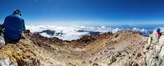 Teneriffa - Teide  3718m Gipfel Panorama