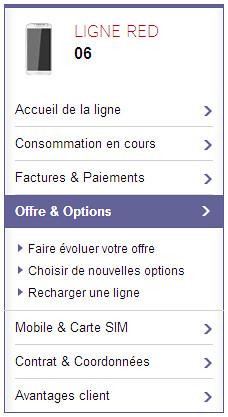 Mon abonnement et mes options   Mon Espace Client   SFR.fr