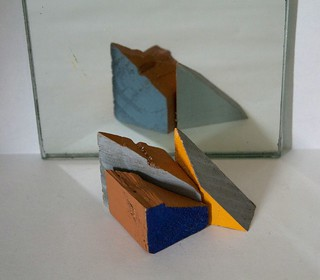 Untitled composition with blocks
