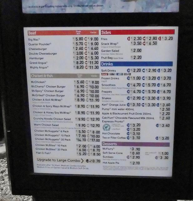 Mcdonalds menu australia price list 2013 australian natio flickr mcdonalds menu new zealand altavistaventures Images
