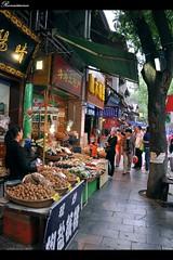 西安回民街(Xi'an muslin street)
